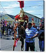 Thoth Parade Rider Canvas Print