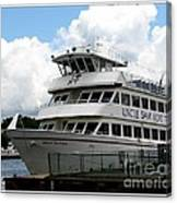 Thousand Islands Saint Lawrence Seaway Uncle Sam Boat Tours Canvas Print
