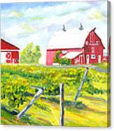 Thousand Islands Winery-september Canvas Print