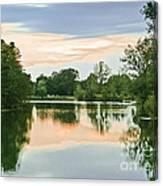 Thousand Trails Horseshoe Lake Canvas Print