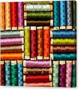 Thread Reels Canvas Print