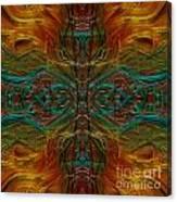 Threaded Symmetry Canvas Print