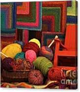 Threads Of The Soul Al Profits Benefit Hospice Of The Calumet Area Canvas Print