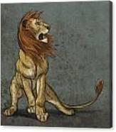 Threatened Canvas Print