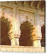 Three Arches At Sunrise Canvas Print