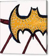 Three Bat Signals Canvas Print