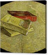 Three Books Canvas Print