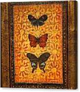 Three Butterflies Two Canvas Print