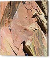 Three Climbers Canvas Print