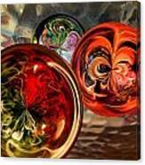 Three Colored Balls Canvas Print