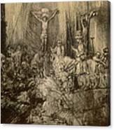 Three Crucifixes Canvas Print