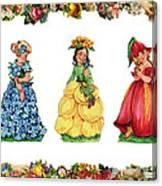 Three Cuties Canvas Print