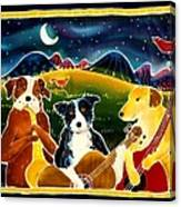 Three Dog Night Canvas Print