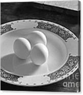 Three Eggs 2 Canvas Print