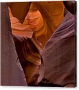 Three Faces In Sandstone Canvas Print