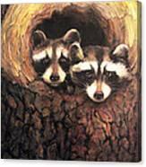 Three Is A Crowd Canvas Print
