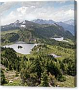 Three Lakes Canvas Print