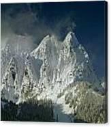 1m4503-three Peaks Of Mt. Index Canvas Print