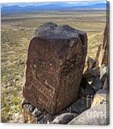 Three Rivers Petroglyphs 3 Canvas Print