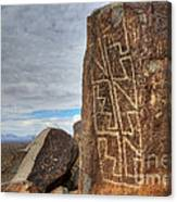 Three Rivers Petroglyphs 4 Canvas Print