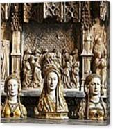 Three Saints In Marble Canvas Print