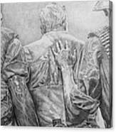 Three Soldiers Canvas Print