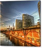 Three Towers Berlin Canvas Print