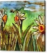 Three Trumpets Canvas Print