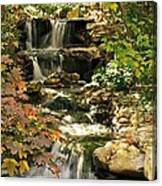 Three Water Falls Canvas Print
