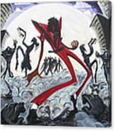 The Thriller V2 Canvas Print