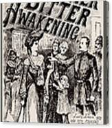 Thrilling Life Stories For The Masses 1892 Canvas Print