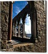 Through Castle Walls Canvas Print