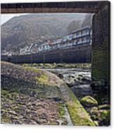 Through The Bridge Canvas Print