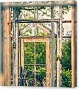 Thru Times Window Canvas Print