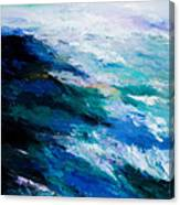 Thunder Tide Canvas Print