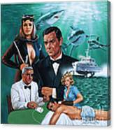 Thunderball Canvas Print