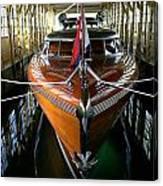 Thunderbird Boathouse  Canvas Print