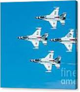 Thunderbird In Formation  Canvas Print