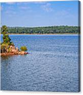 Thunderbird Lake Canvas Print