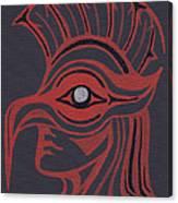 Thunderbird Mask Canvas Print