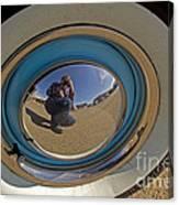 Thunderbird Self Portrait   #8148 Canvas Print