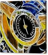 Thunderbird Spokes Fractal Canvas Print
