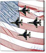 Thunderbirds Canvas Print