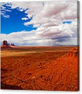 Thunderstorm Artist's Point Monument Valley Canvas Print