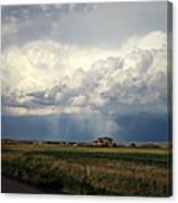 Thunderstorm On The Plains Canvas Print