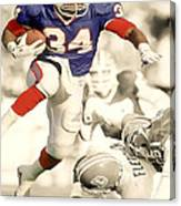 Thurman Thomas Canvas Print
