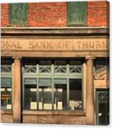 Thurmond Bank Of West Virginia Canvas Print