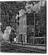 Thurmond Wv Monochrome Canvas Print