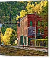 Thurmond Wv - Paint Canvas Print