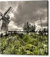 Thurne Wind Pump Canvas Print